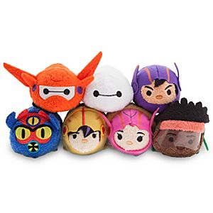 Big Hero 6 Tsum Tsums Now Available, Little Mermaid Collection Premieres Next Month