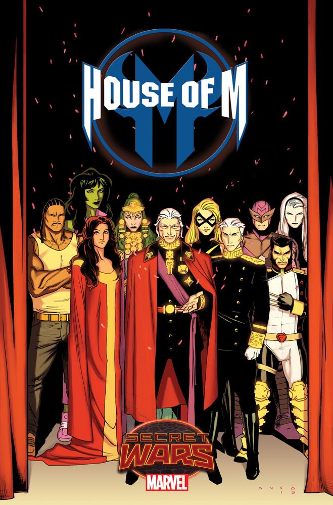House of M Enters Marvel's Secret Wars