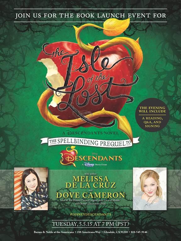 Launch Event for The Isle of the Lost, a Disney Descendants Prequel, Announced