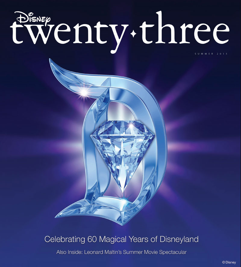 D23 Magazine to Celebrate Disneyland's 60th Anniversary