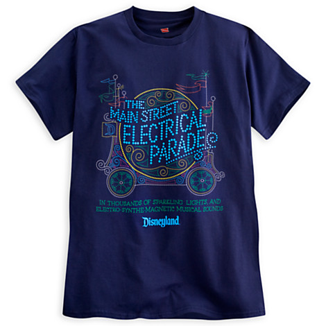 Main Street Electrical Parade T-Shirts Available from Disney Store