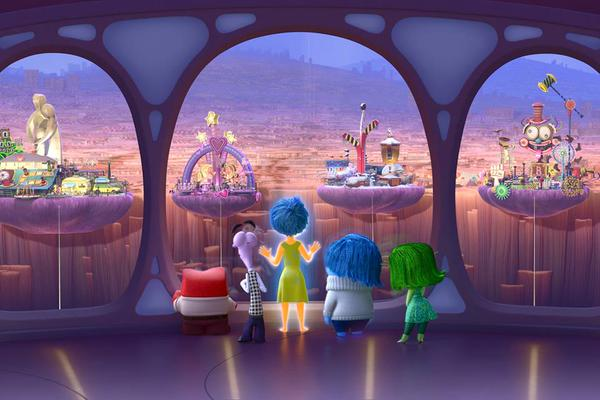 Inside Out Easter Eggs