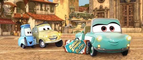 Luigi's Rollickin' Roadsters coming to Disney California Adventure
