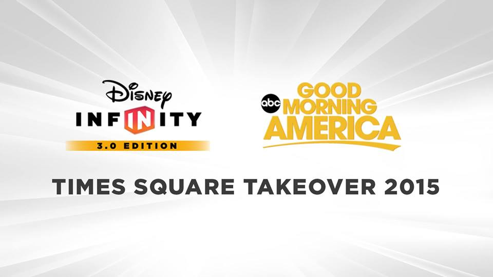 Good Morning America to Celebrate Launch of Disney Infinity 3.0