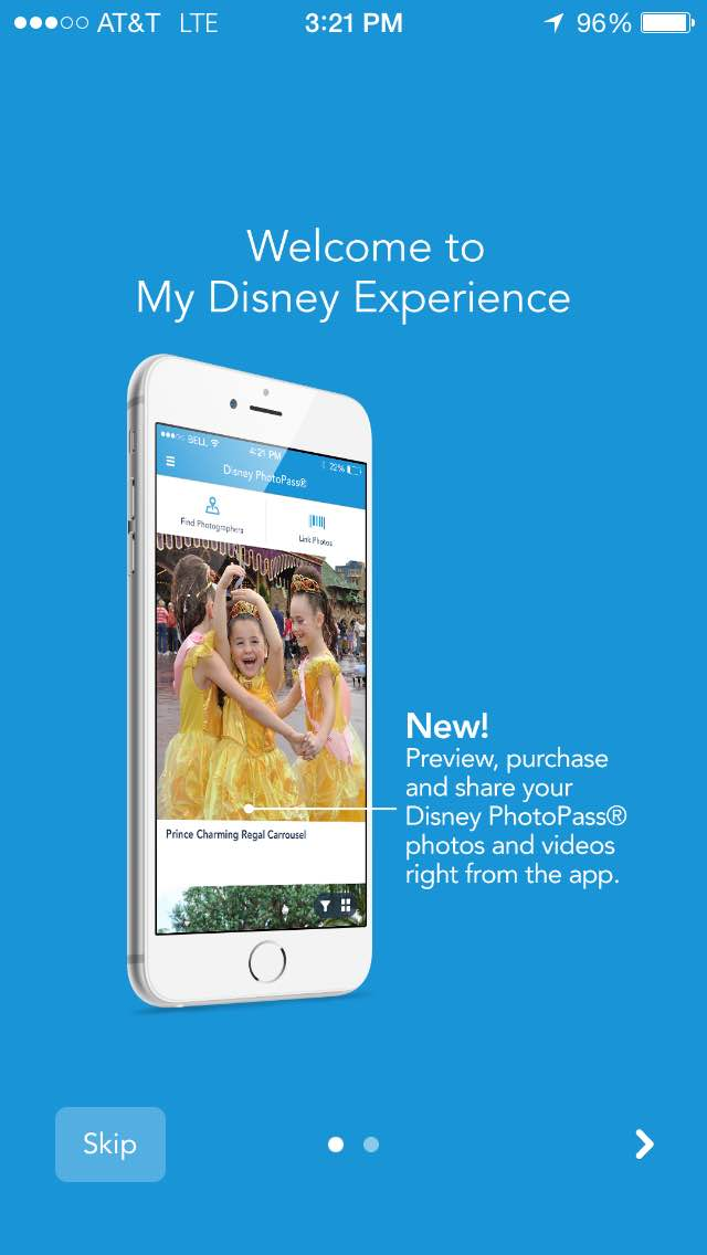 My Disney Experience App Updated to Include PhotoPass Functionality