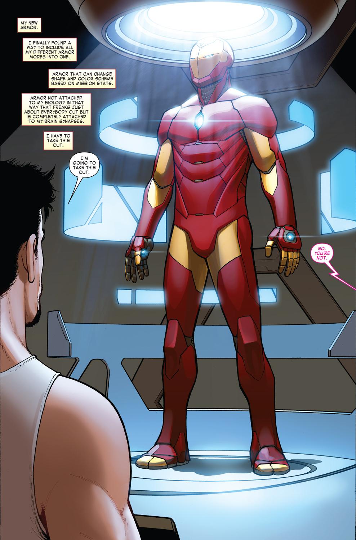 New Look at Invincible Iron Man #1