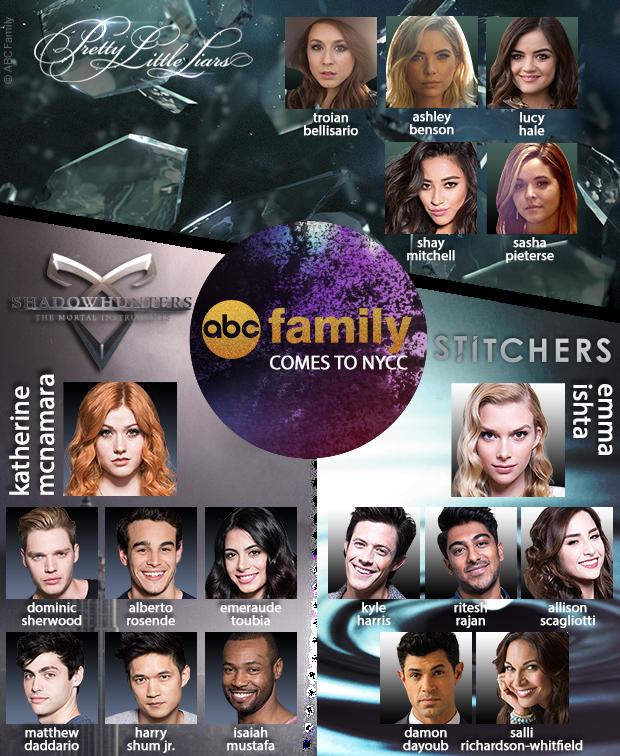 ABC Family Comes to New York Comic Con