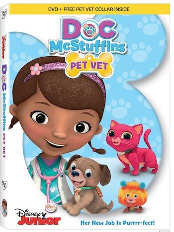 Doc McStuffins Pet Vet Comes to DVD