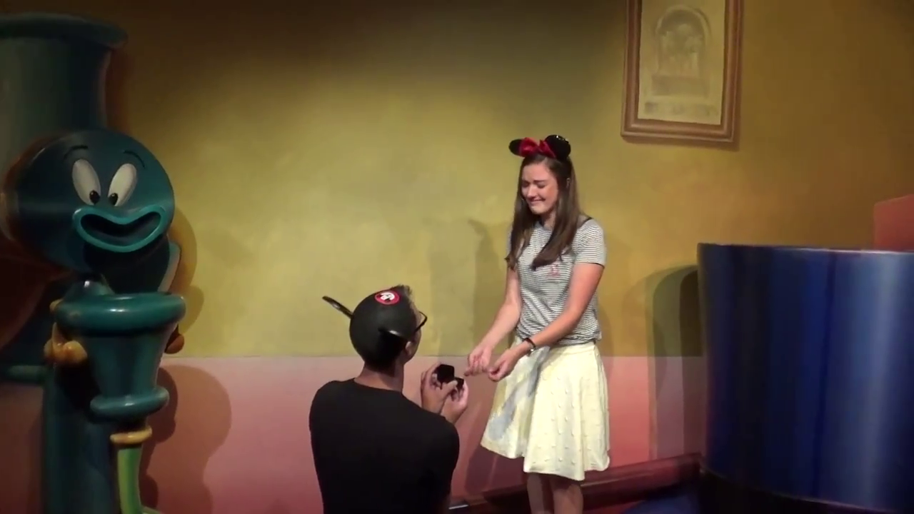 Video Pick: Disneyland Proposal with Mickey