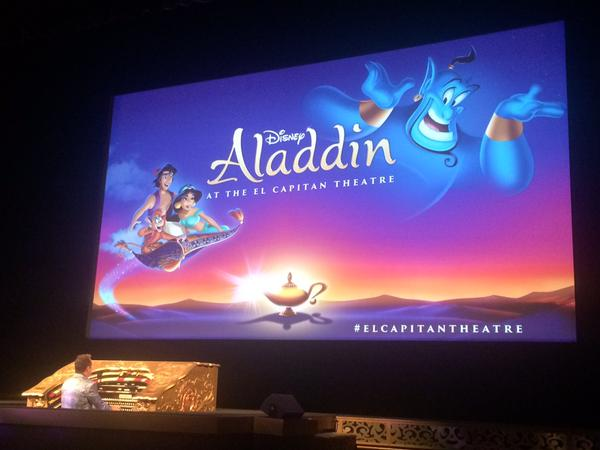 Aladdin at the El Capitan Theatre