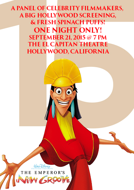 Special Throwback Screening of Emperor's New Groove