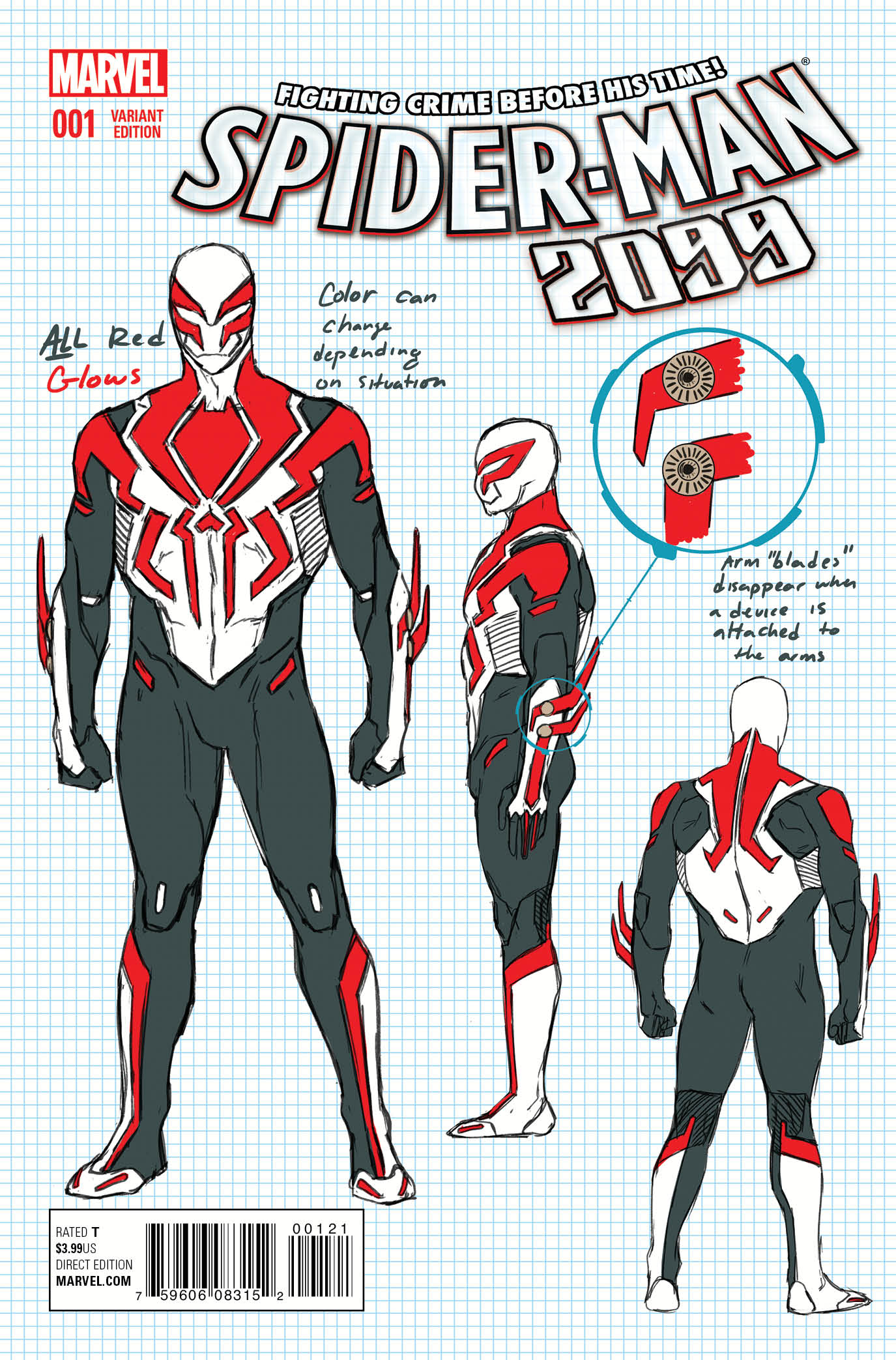 First Look At New Spider Man 2099 LaughingPlacecom