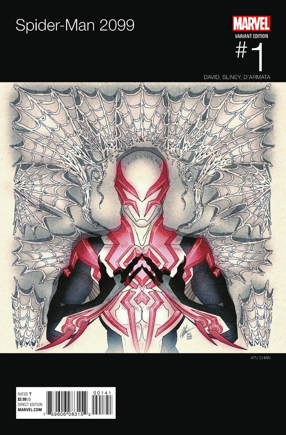 First Look at New Spider-Man 2099
