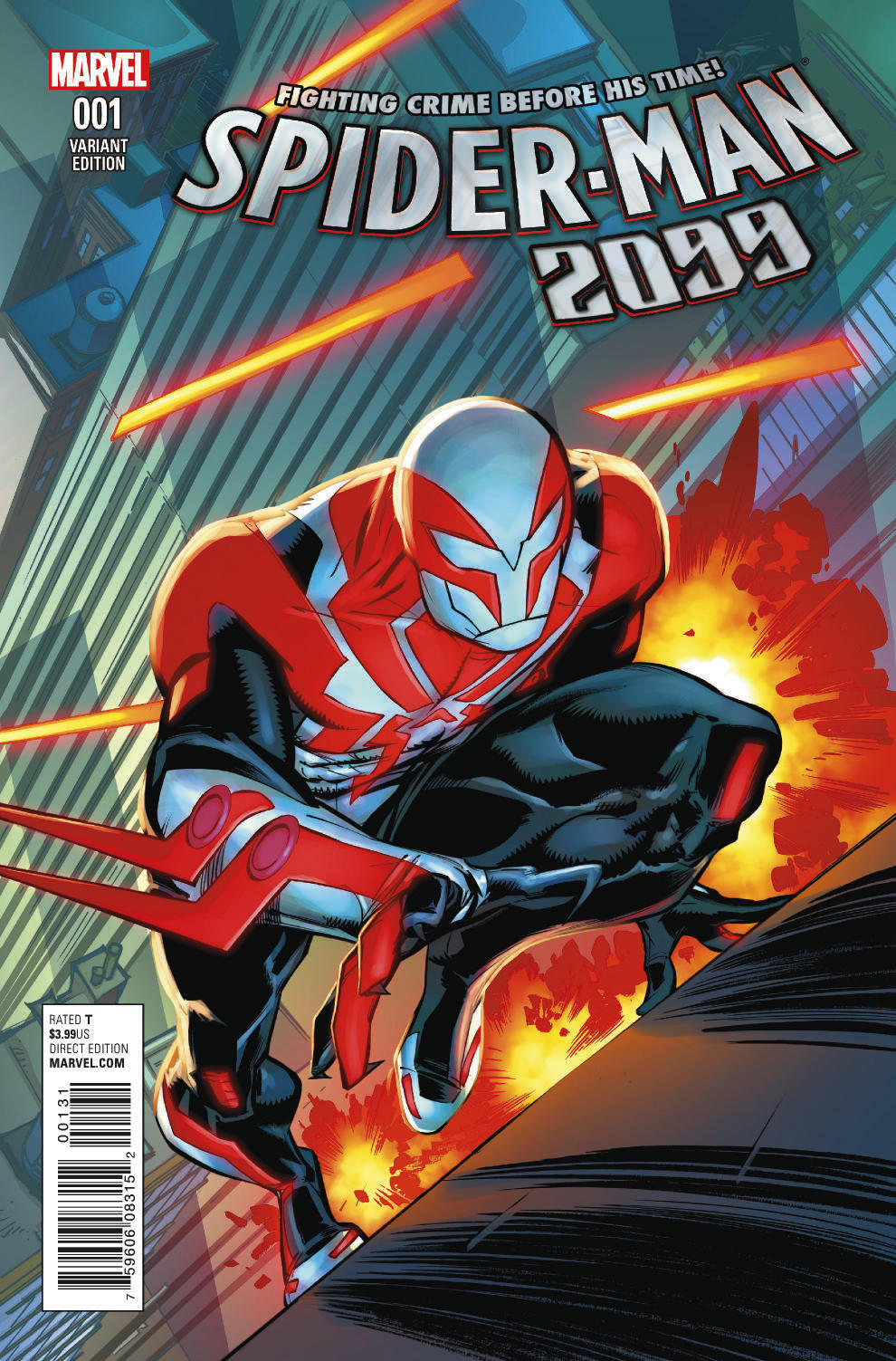 First Look At New Spider Man 2099 Laughingplace Com