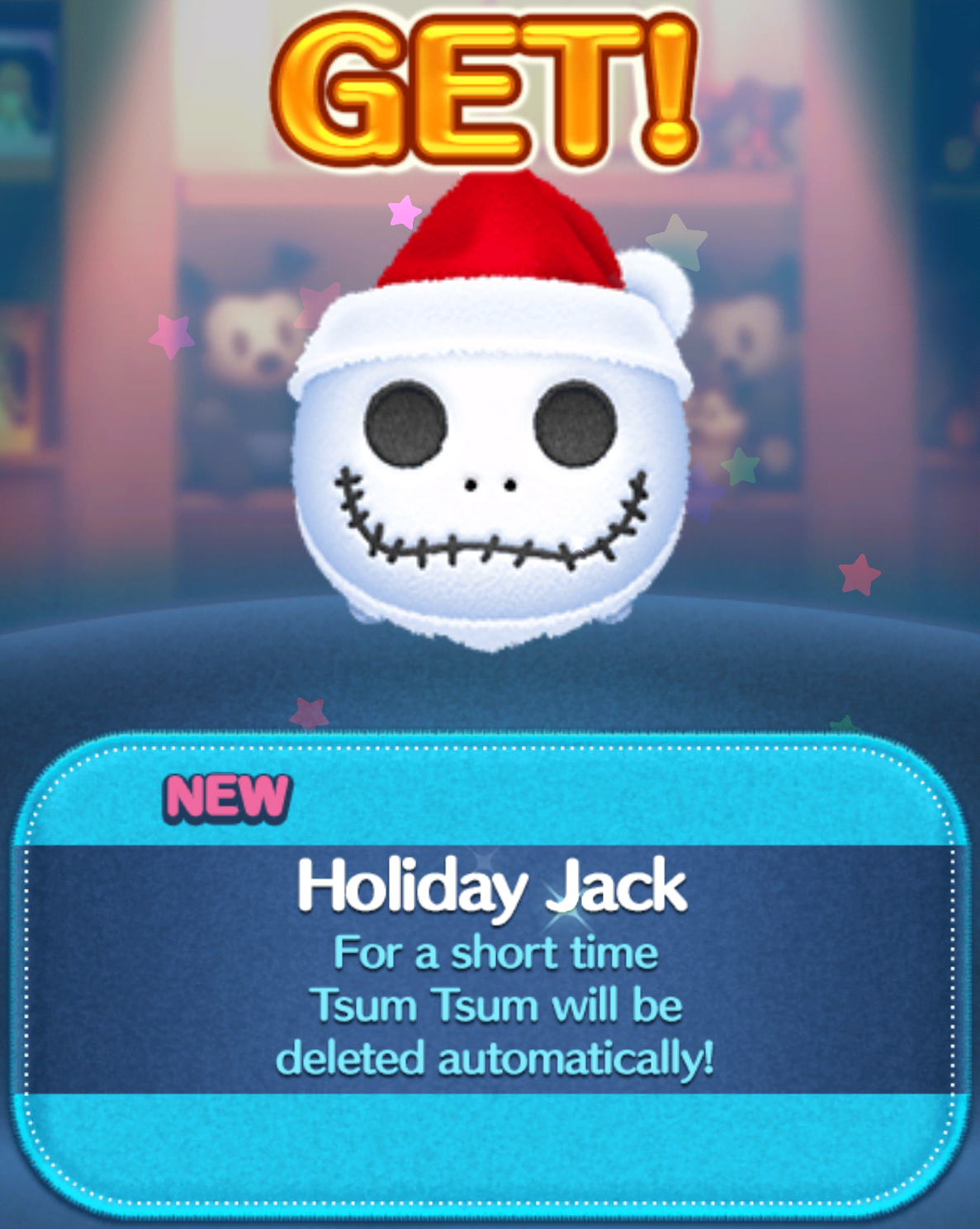 Tsum Tsum Life: Sandy Claws or Holiday Jack?