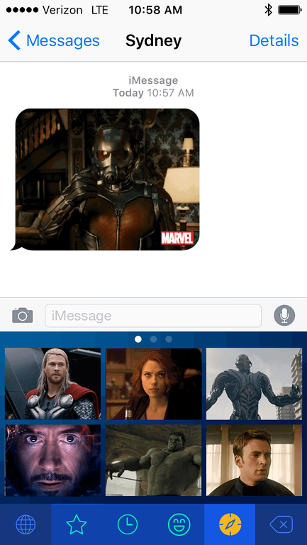 Marvel Added to Disney Gif