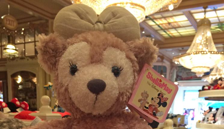 ShellieMay the Disney Bear's First U.S. Park Merchandise