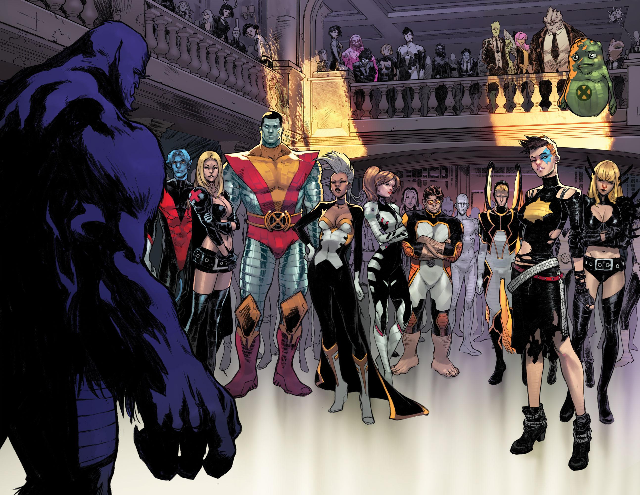 New Look at X-Men 600