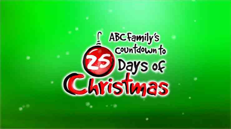 Abc Family Counts Down To 25 Days Of Christmas