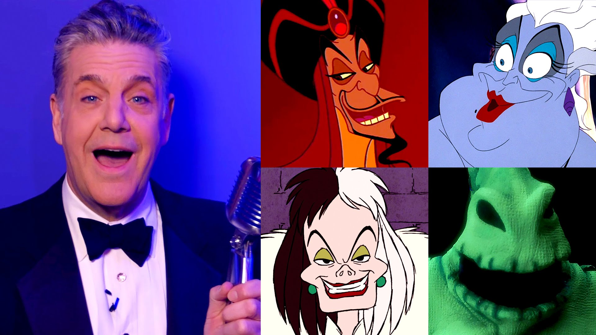 Voice of Jafar Sings Disney Villain Songs