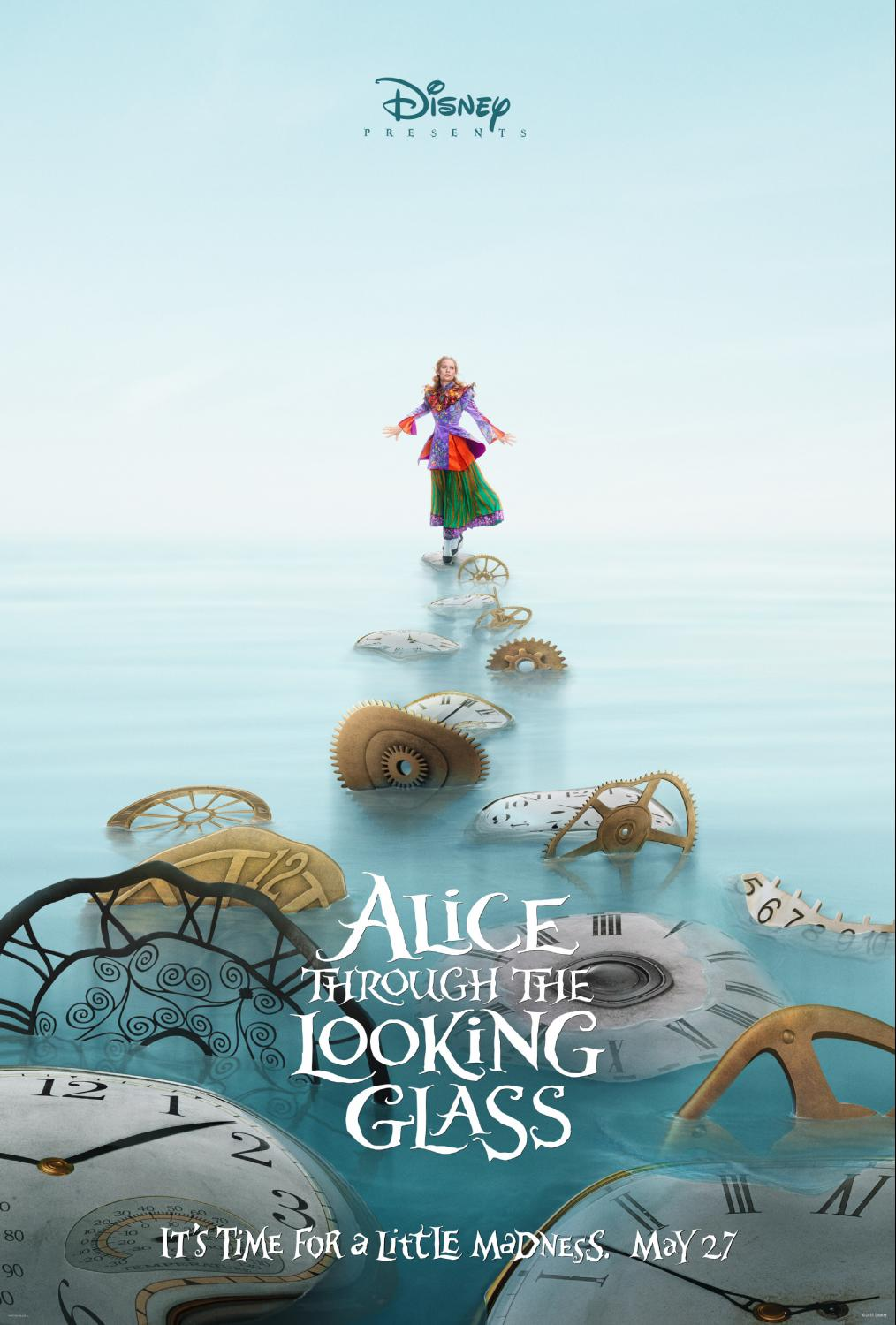 Disney Teases Alice Through the Looking Glass
