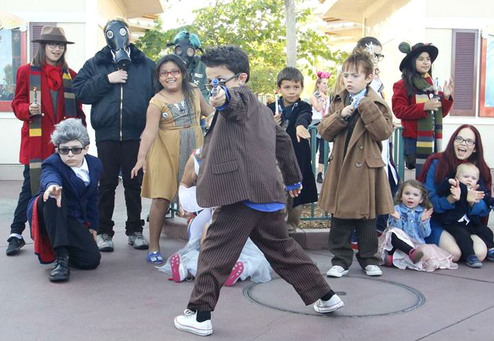 Doctor Who Fans Celebrate Galliday at Disneyland