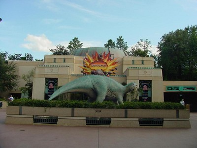 This attraction's current name is Dinosaur. Do you remember its original name?
