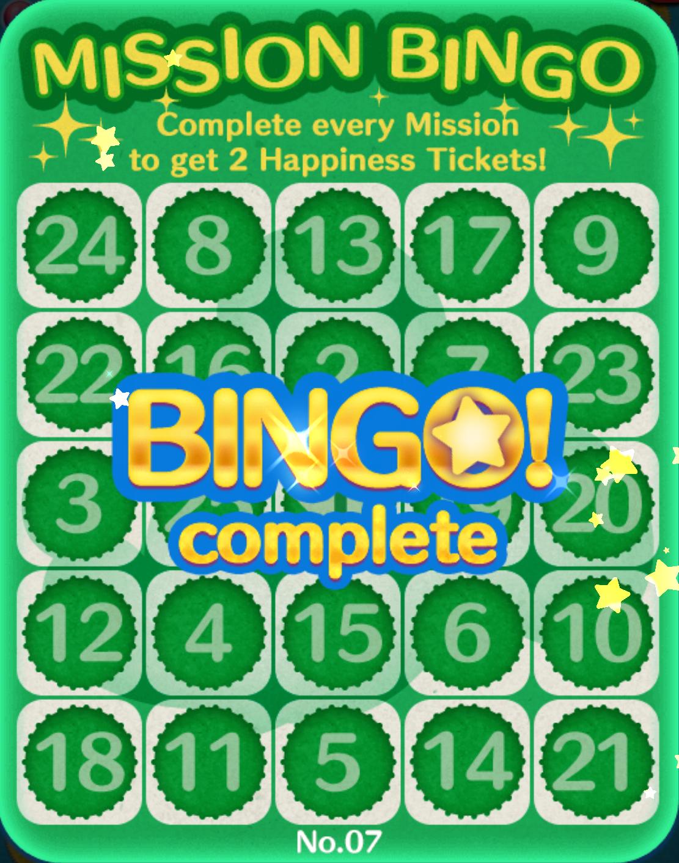 Tsum Tsum Life: Easy Peasy Bingo