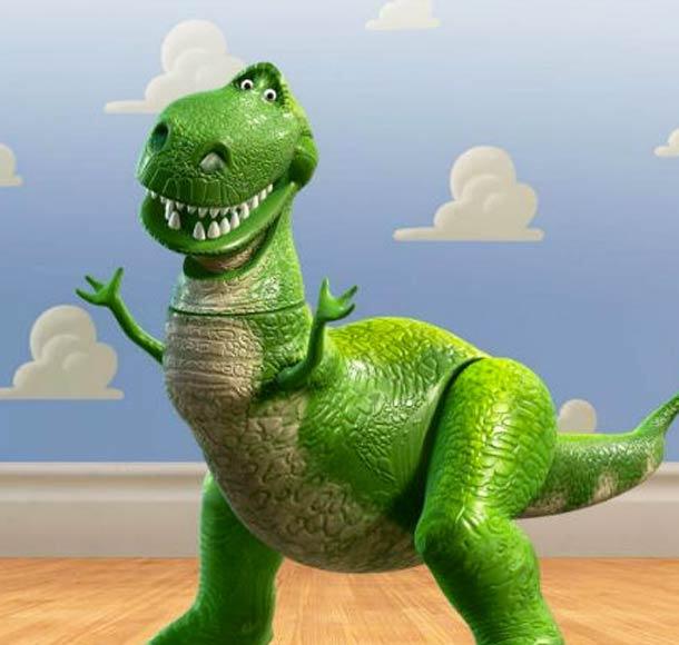 Who is this dinosaur from Pixar's Toy Story?