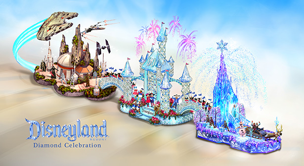 Disneyland 2016 Rose Parade Float Revealed