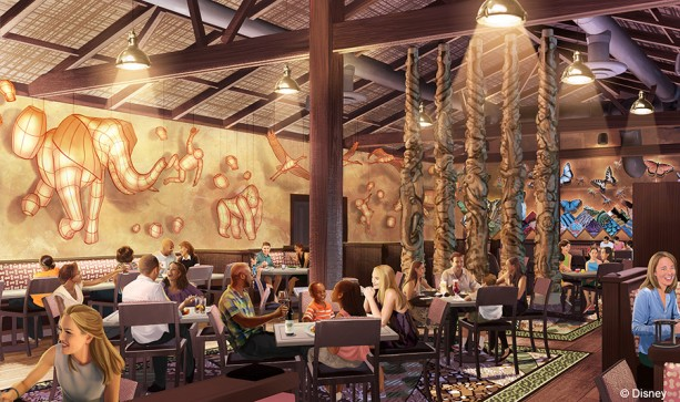 Disney Animal Kingdom Announces Tiffins Restaurant