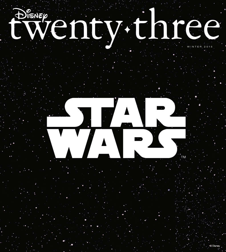 Next Issue of D23 Magazine Features Star Wars