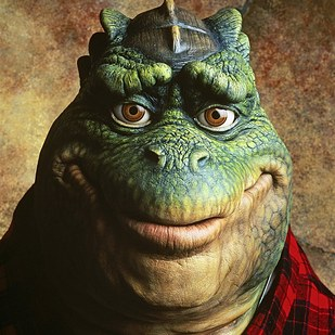 Can you name this Disney television dinosaur?
