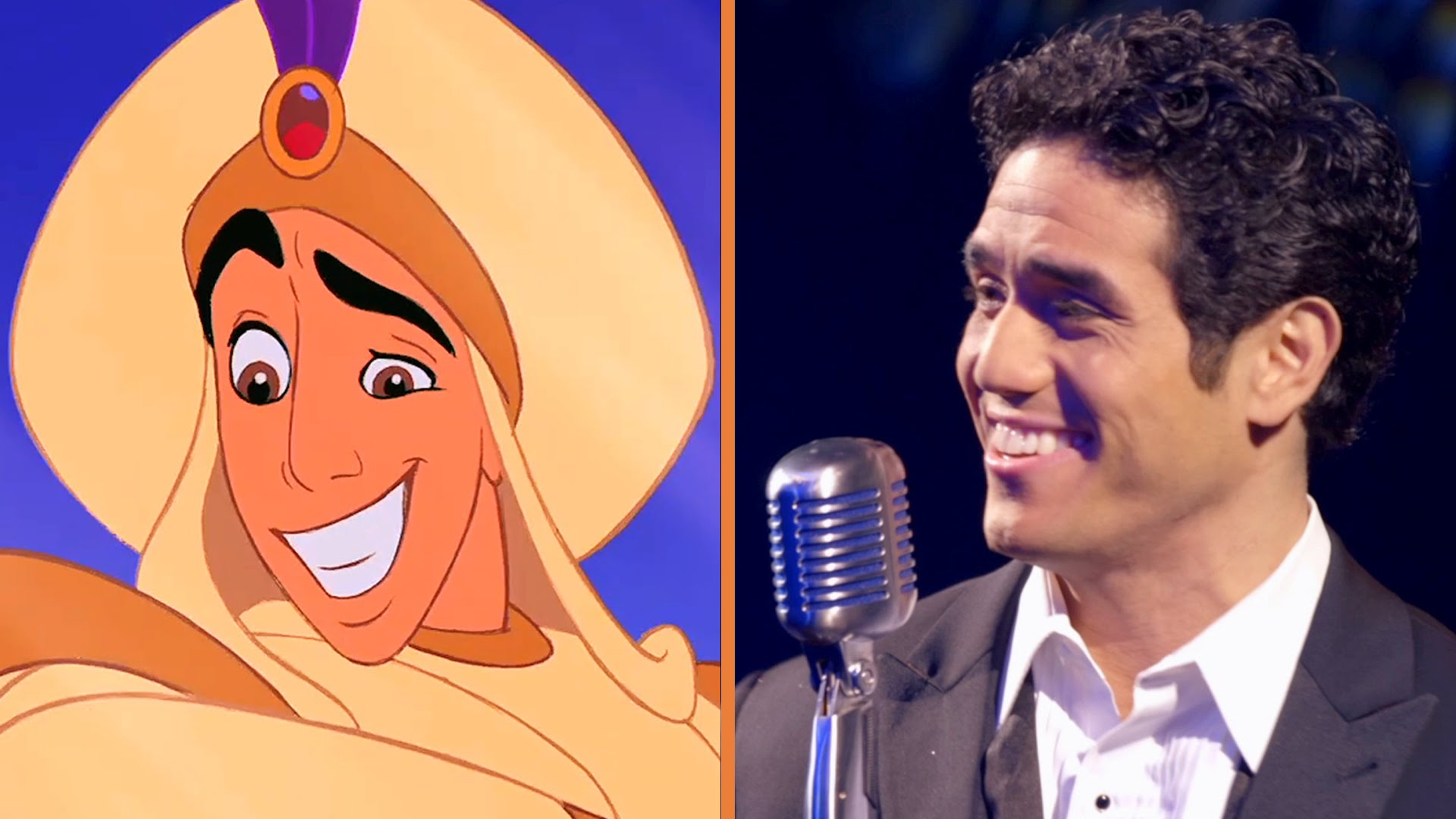 Broadway's Aladdin Sings a Classic