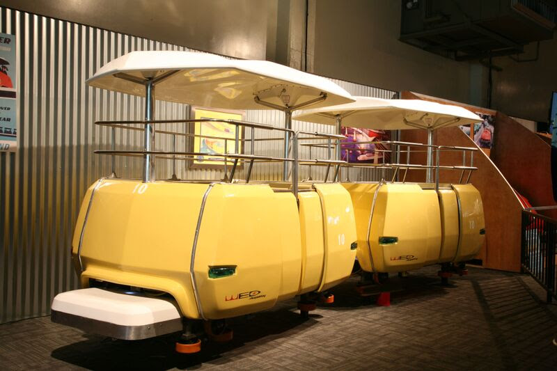 Sale of Disneyland PeopleMover Car Sets World Record At Auction