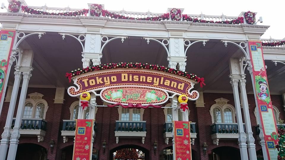 Christmas Fantasy 2015 at Tokyo Disneyland