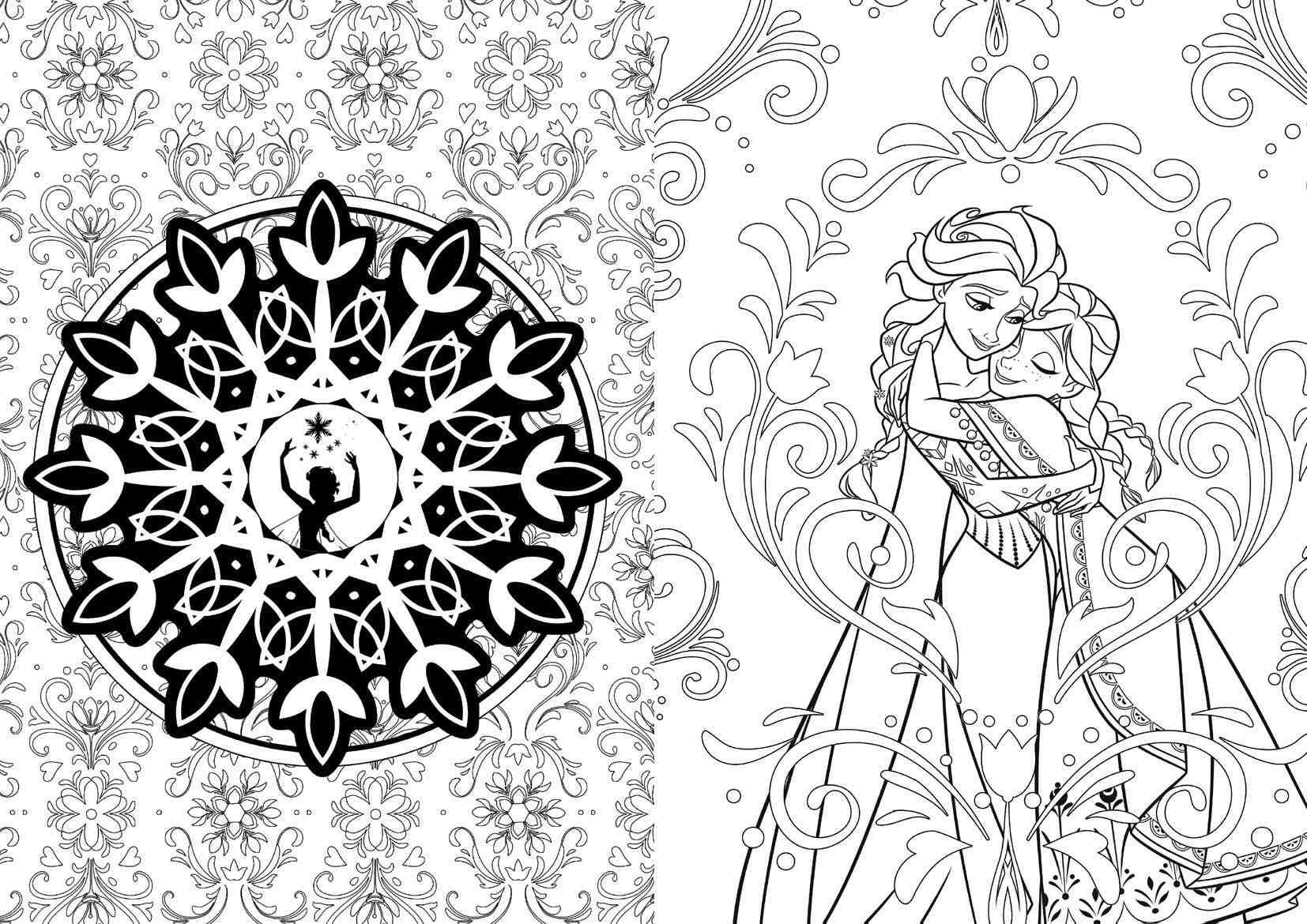 Disney offers coloring books for adults Coloring books for young adults