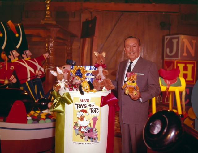 A Brief History of Toys for Tots and What Walt Disney Had to Do With It