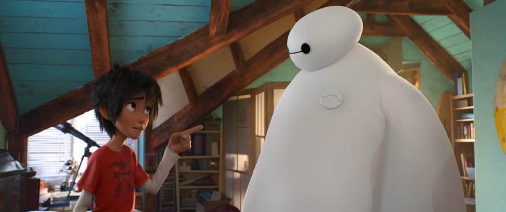"""""""BIG HERO 6"""" ? Pictured (L-R): Hiro & Baymax. """"Big Hero 6"""" is in theaters Nov. 7, 2014. ?2014 Disney. All Rights Reserved."""