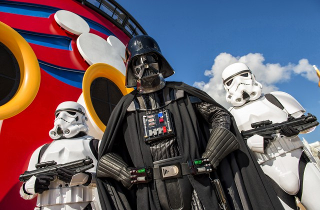 Disney Cruise Lines' First Star Wars Day at Sea in Pictures and Video