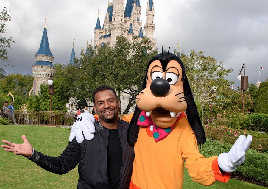Actor and TV Host Alfonso Ribeiro at the Magic Kingdom