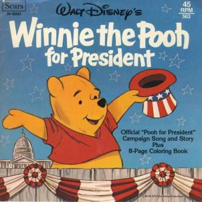 winnie the pooh for president 2016 laughingplace com