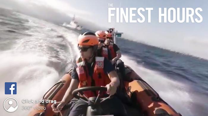 Disney Shares 360-Degree Video of United States Coast Guard