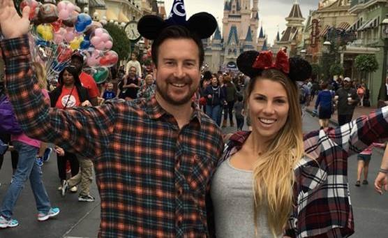 Celebrity Sighting at Disney: NASCAR's Kurt Busch