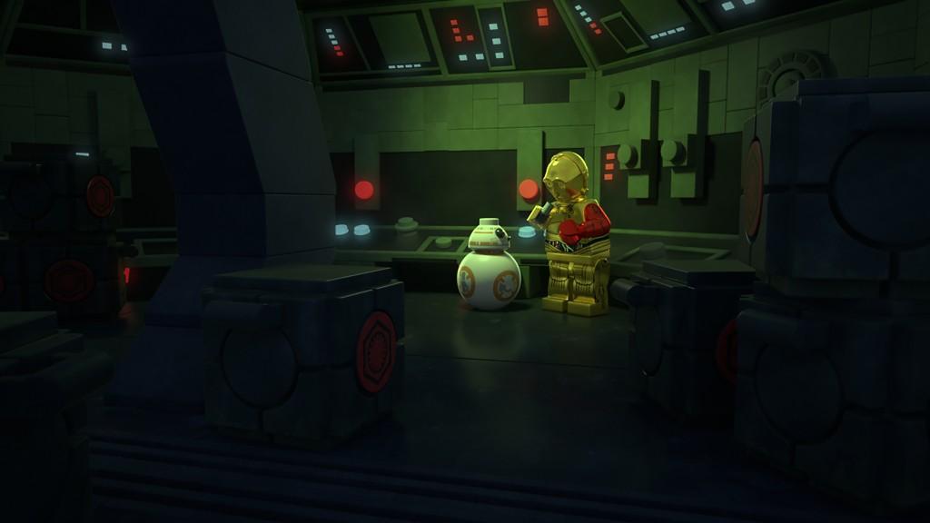 BB-8. C-3PO
