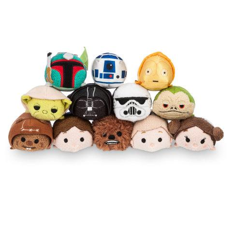 Disney Store Reveals Star Wars Tsum Tsums
