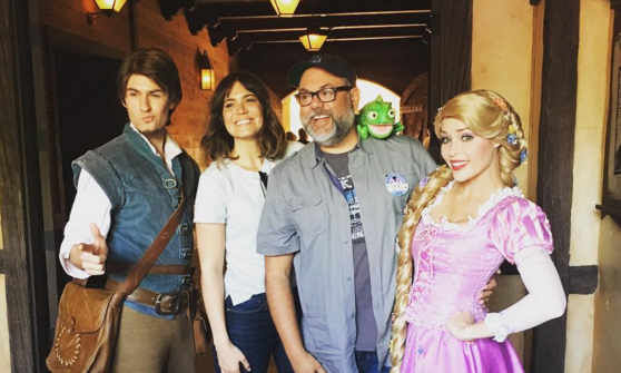 Rapunzel Herself, Mandy Moore, Visits Disneyland and Instagrams Her Day