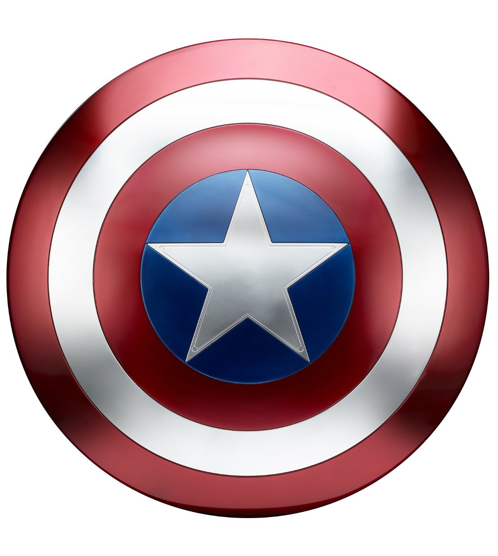 how to make captain america shield star