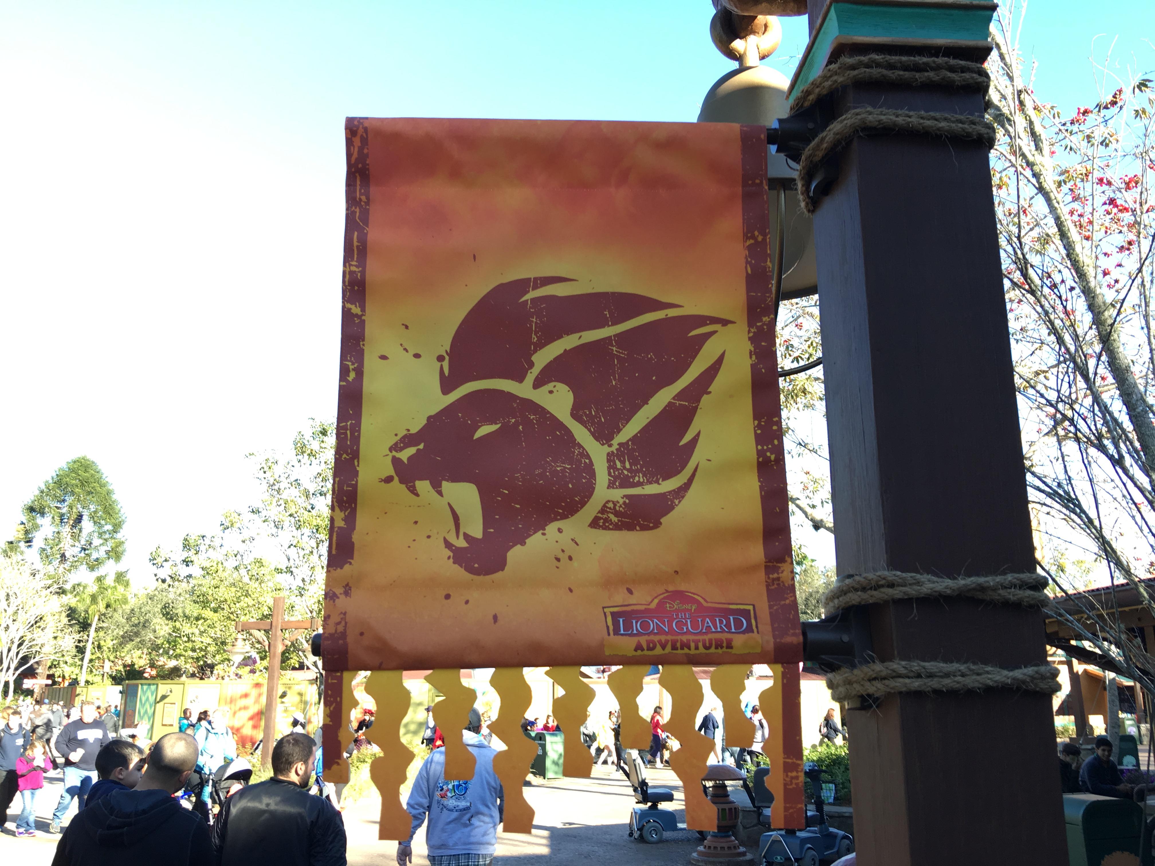 Disney Junior The Lion Guard Adventure Roars into Disney's Animal Kingdom