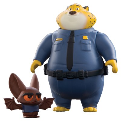 Zootopia- Core Figure-Clawhauser & Bat Eyewitness